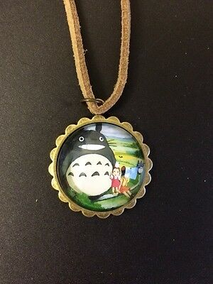 My neighbour Totoro ghibli Studio japan Anime Necklace Christmas Gift Cosplay