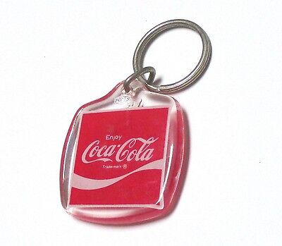 Coca-Cola USA Acryl Schlüsselanhänger Key Chain Enjoy Coke 1