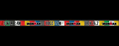 Ironman Triathlon 140.6 Colorblock Lanyard *New with Tags*