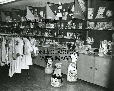 1963 Disneyland Toy & Souvenir Gift Shop Early Photo Mickey Mouse 101 Dalmations