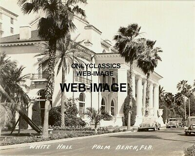 1938 White Hall Palm Beach Florida 8X10 Photo Gilded Age Henry Flagler Mansion