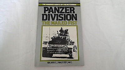 WW2 German Panzer Division The Mailed Fist Reference Book