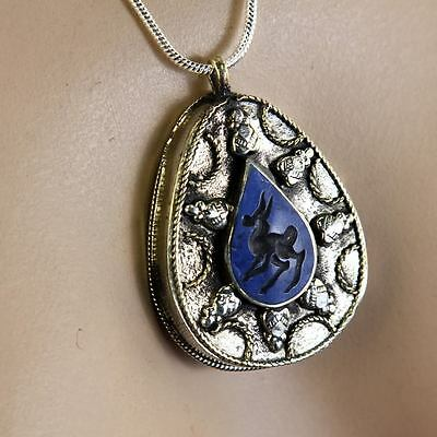 BellyDance ATS tribal PENDANT (Chain not included) Afghani Kuchi 731a9