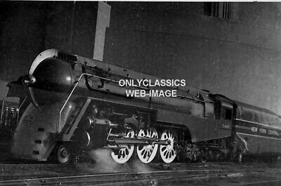 1930's ART DECO STREAMLINED TRAIN NEW YORK CITY CENTRAL NYC 5449 RAILROAD PHOTO