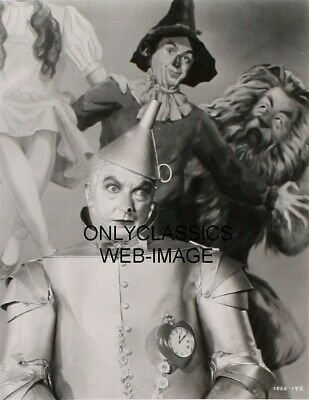 '39 Wizard Of Oz Tin Man With Heart Photo Print Scarecrow Lion Art In Background