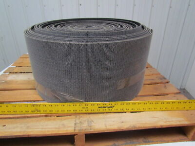 "1 ply black rough top incline conveyor belt 163ft x 12-1/4"" 0.275"" thick"