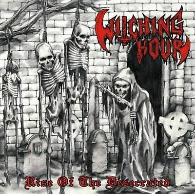 Witching Hour - Rise of the Desecrated CD -BLACK THRASH METAL-