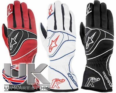 Alpinestars Tech 1-K Gloves All Sizes & Colours Go Kart Karting Race Racing