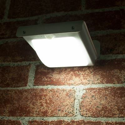 Solar Powered LED Outdoor Wall Garden Door Light Lamp Motion Detection PIR