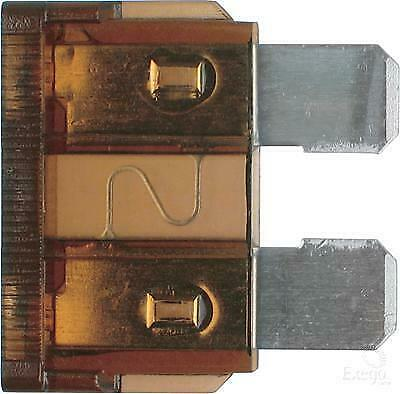 Car Electrical 10 Standard Blade Fuses 7.5 Amp New Fix with Long Fuse Puller