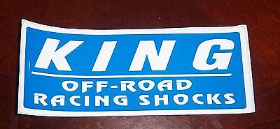 Decal Automotive KING Off Road Racing Shocks
