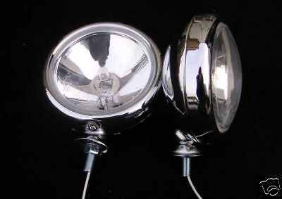 "5 "" CHROME Lampe Spot / FEUX MINI ONE / COOPER S"