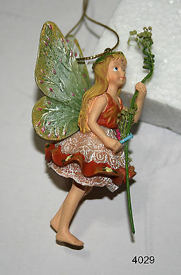 "FAIRY ORNAMENT  with Branch 3"" high  #4029"