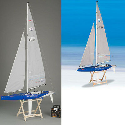 Kyosho Seawind RTR Racing Yacht / Sailboat w/ KT431S Radio & Wooden Stand 40462S