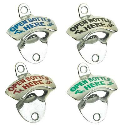 Retro Vintage Metal Wall Mounted Beer Bottle Opener