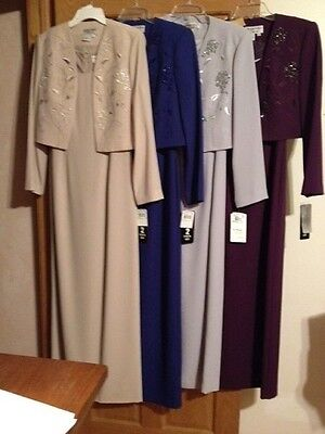 Drastically Reduced Mother Of Bride Dress  Was $215 Now $50.00 4 Colors! Charity