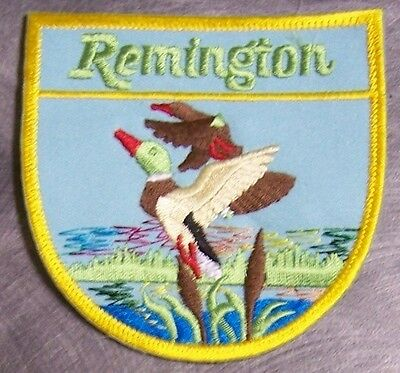 Embroidered Weapons Patch Remington Arms  NEW