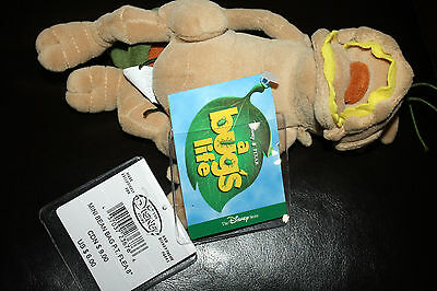 "Disney World A Bug's Life P.t. Flea 8"" Plush Bean Bag Toy"