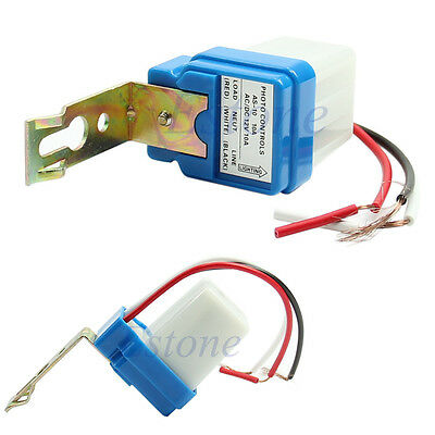 AC DC 12V 10A Auto On Off Street Light Photoswitch Sensor Switch Photocell New