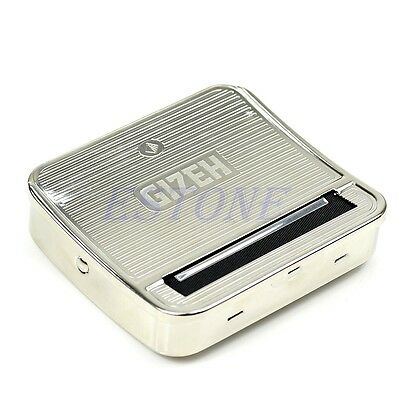 70mm Tobacco Rolling Box Metal Automatic Cigarette Smoking Roller Machine New