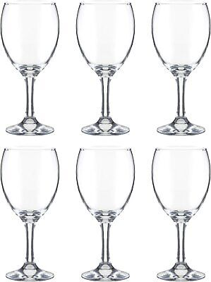 Ravenhead Set Of 6 Red Wine Glasses Clear Serveware Bar Home New
