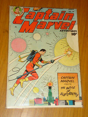 Captain Marvel Adventures #94 Vg (4.0) 1949 March Fawcett* A