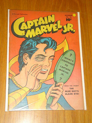 Captain Marvel Jr #56 Fn (6.0) 1947 December Fawcett*