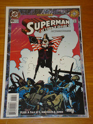 Action Comics Annual #6 Dc Near Mint Condition Superman January 1994