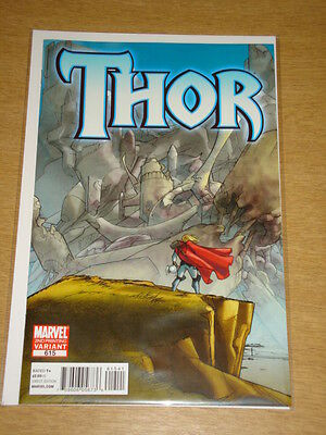 Thor #615 Marvel Comics 2Nd Printing Variant Edition Cover