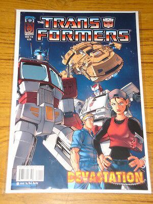 Transformers Devastation #1 Idw Comic Cover B Variant