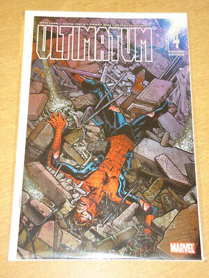 Ultimatum #4 Marvel Comics Variant Edition Cover Spiderman