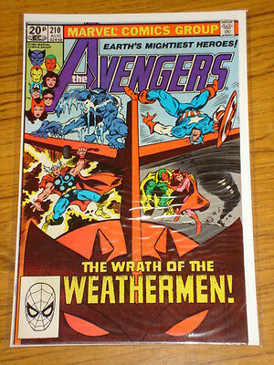 Avengers #210 Vol1 Marvel Comics August 1981