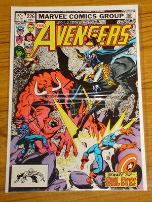 Avengers #226 Vol1 Marvel Comics Scarce December 1982