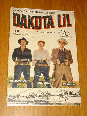 Fawcett Movie Comic Dakota Lil#1 G/vg (3.0) 1949*