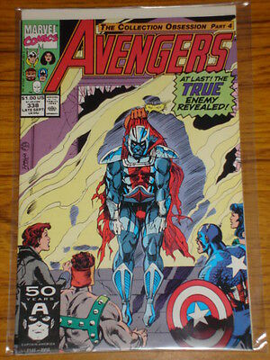 Avengers #338 Vol1 Marvel Comics September 1991