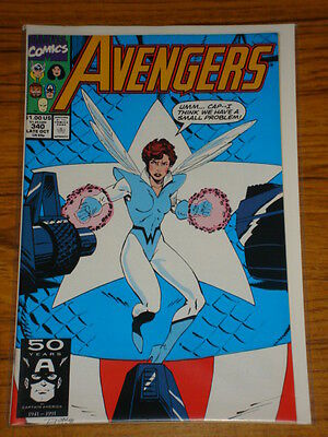 Avengers #340 Vol1 Marvel Comics October 1991