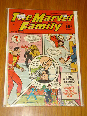 Marvel Family Comics #38 Vf- (7.5) 1949 August Fawcett*