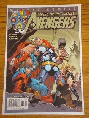 Avengers #45 Vol3 Marvel Comics October 2001