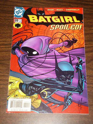 Batgirl #20 Dc Comics Batman Dark Knight Vfnm Condition November 2001
