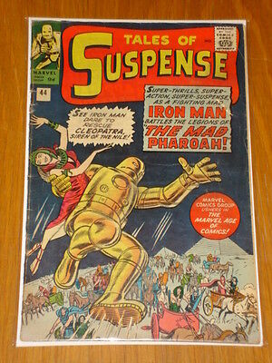 Tales Of Suspense #44 Iron Man Aug 1963 Vg (4.0) *