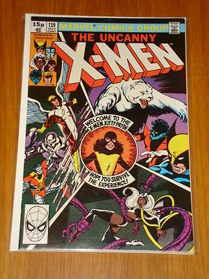 X-Men Uncanny #139 Marvel Comic Nov 1980 Vfn+ (8.5) *