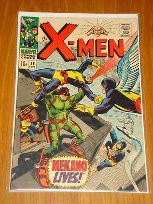 X-Men Uncanny #36 Marvel Comic Sept 1967 Vfn- (7.5) *