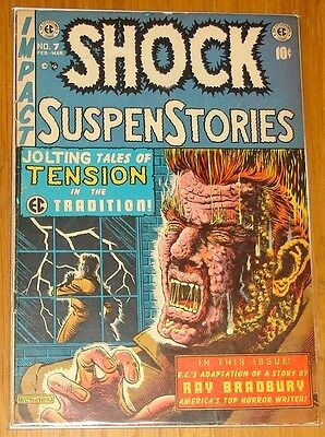 Shock Suspenstories #7 Vg (4.0) Ec February March 1953*