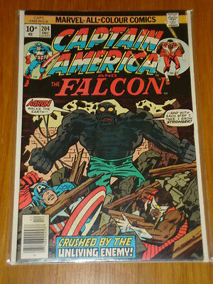Captain America #204 Marvel Comic Near Mint Kirby December 1976