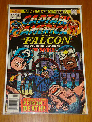 Captain America #206 Marvel Comic Near Mint Kirby February 1977