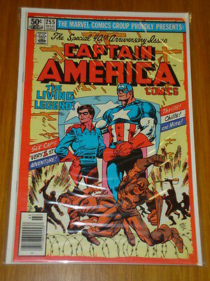 Captain America #255 Marvel Comic Nm Byrne Art Scarce March 1981
