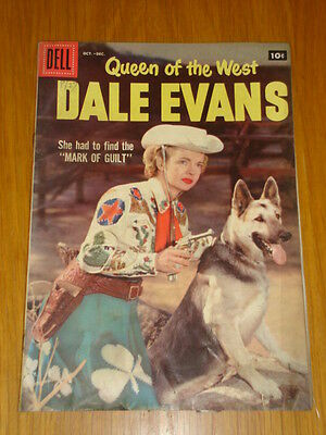 Dale Evans Queen Of The West #17 Vg (4.0) 1957 Dell Western Comic B