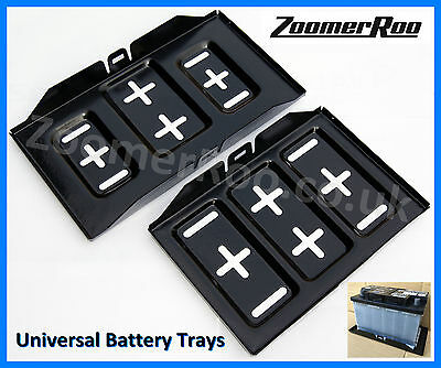 Universal Car Battery Tray - Small 274mm x 183mm or Large 334mm x 183mm