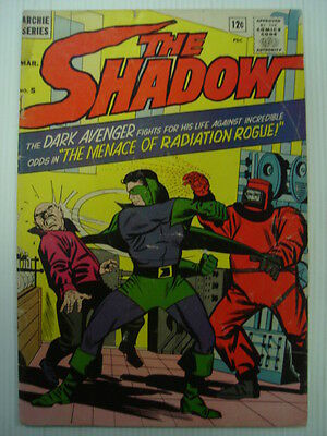 Shadow, The #5 Vg (4.0) Archie Series