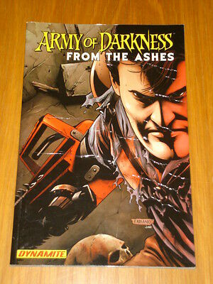 Army Of Darkness From The Ashes Graphic Novel Dynamite< 9781933305776